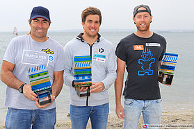 Podiums men beach le jai