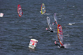 Light wind slalom