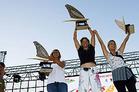 Jaggi takes the world race title, Valerie Ghibaudo second, Sarah Herbert third