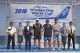 Mens slalom winners Japan 2018