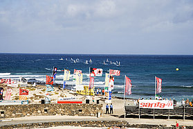Race action Costa Teguise