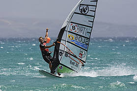 Slabe makes it...his first PWA slalom final