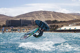 All action here in Fuerteventura
