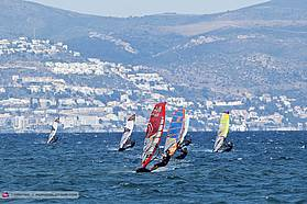 Cyril Moussilmani in the lead