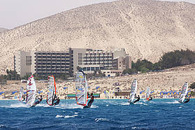 Perfect slalom conditions in Fuerteventura