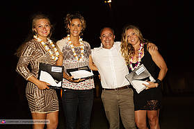 Cesare and the Ladies Aloha winners
