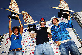 Starboard world champions celebrate