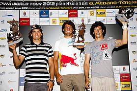 Men's top three Tenerife 2012