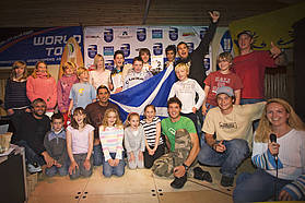 PWA support the Tiree T15 youths