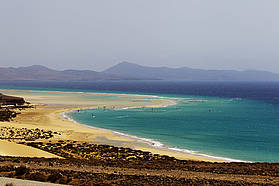 The stunning beaches of Sotevento