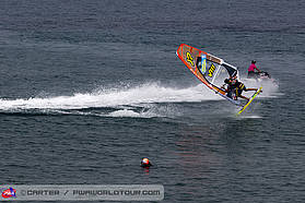 Campello tow surf action