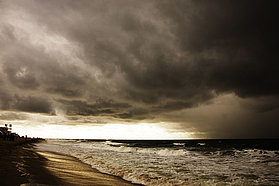 More stormy skies over Sylt