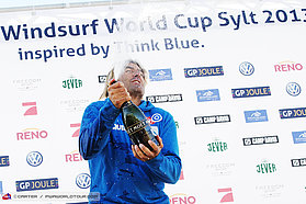 Champagne moment for Albeau