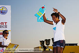 Sarah Quita wins here in Alacati