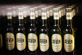 Jever's ready to roll for the Saturday party