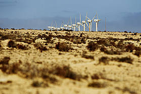 The Sotevento windmills
