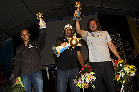 Men's slalom winners