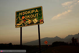 The Hookipa sign