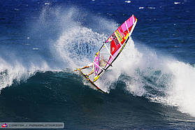 Robby Naish off the lip
