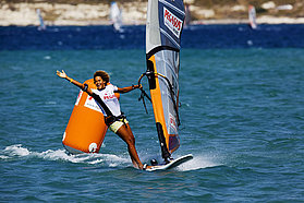 First ever PWA slalom victory for Sarah Quita