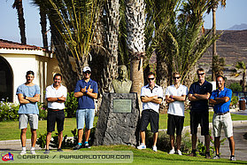 The annual Tenerife challange at the Amarilla Golf Club