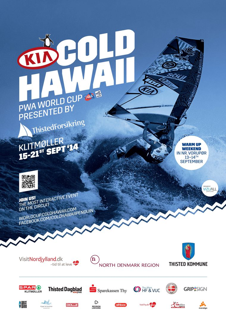 Kia Cold Hawaii World cup, Klitmoller 2014
