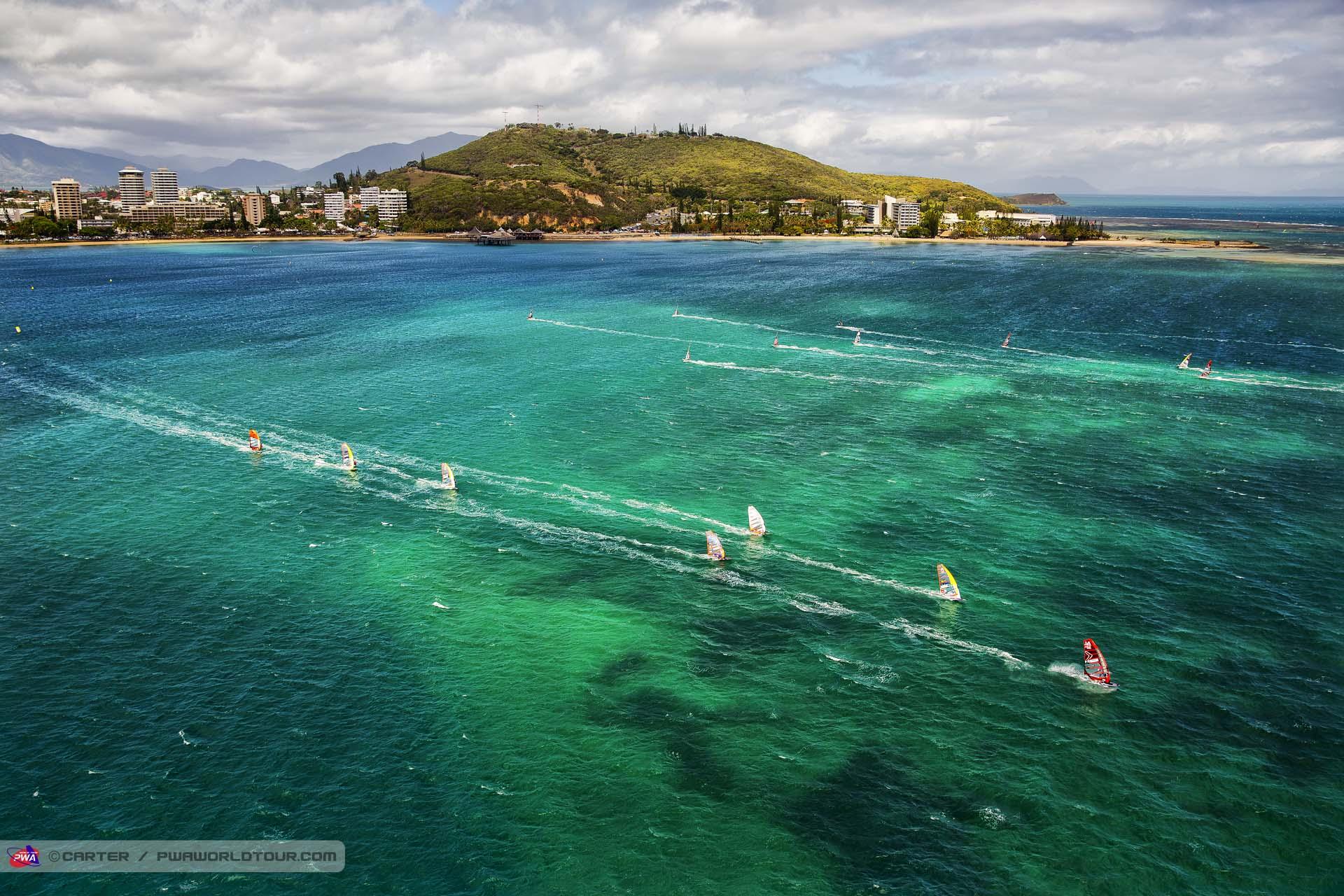 Pwa world windsurfing tour airwaves noumea pwa dream cup for The caledonia