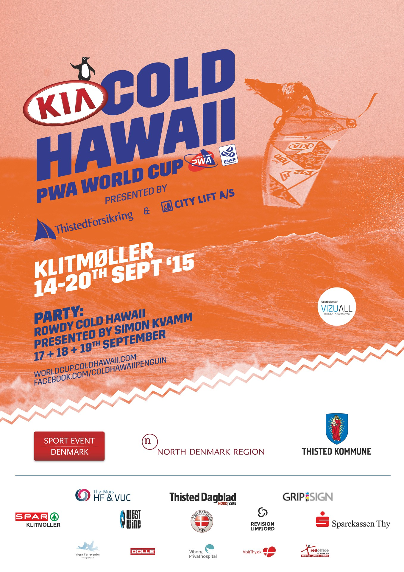 Kia Cold Hawaii World cup, Klitmoller 2015