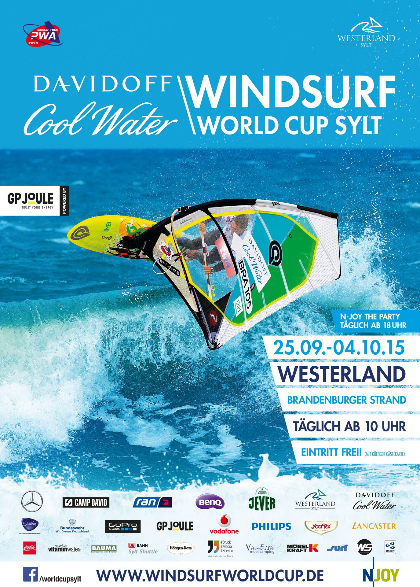 DAVIDOFF Cool Water World Cup Sylt