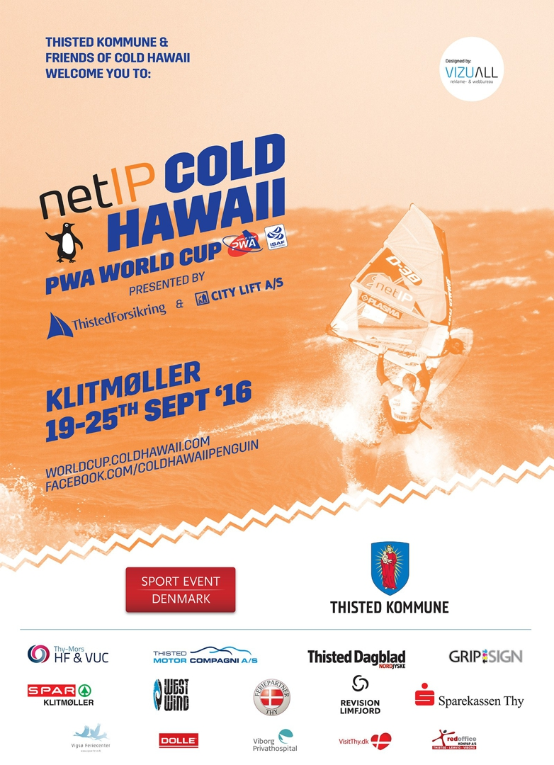 netIP Cold Hawaii World cup, Klitmoller 2016